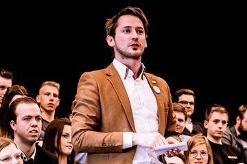 Fractieleider Pieter-Jan Verhoye
